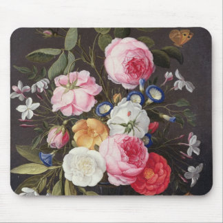 T32512 Still Life of Flowers in a Vase, 1661 (see Mouse Pad