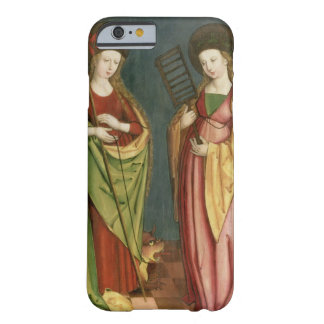 T32982 St. Margaret of Antioch and St. Faith, c.15 Barely There iPhone 6 Case