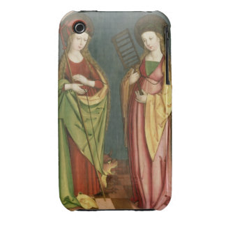 T32982 St. Margaret of Antioch and St. Faith, c.15 iPhone 3 Case
