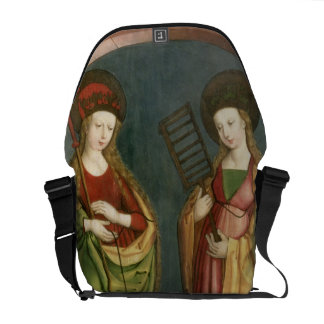 T32982 St. Margaret of Antioch and St. Faith, c.15 Messenger Bag