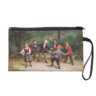 T33268 Blind Man's Buff 91316me; children; playing Wristlet Purses