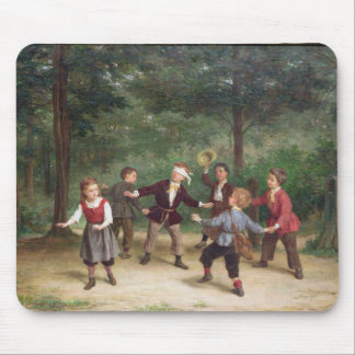 T33268 Blind Man's Buff 91316me; children; playing Mouse Pad
