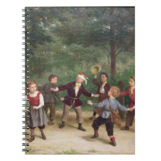 T33268 Blind Man's Buff 91316me; children; playing Notebook