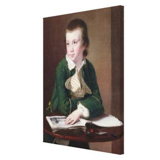 T33403 Portrait of the Revd William Rastall as a B Canvas Print