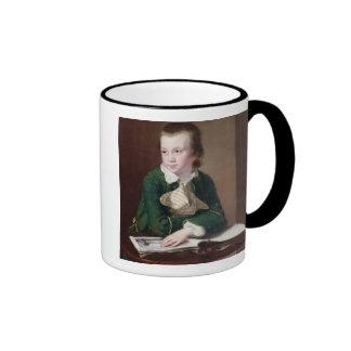 T33403 Portrait of the Revd William Rastall as a B Mugs
