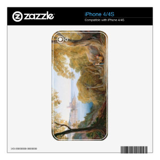 T33412 Landscape with View of Lerici, 1880 iPhone 4 Decals
