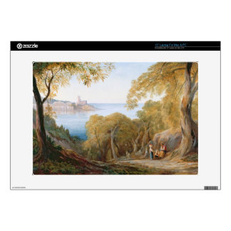 T33412 Landscape with View of Lerici, 1880 Laptop Decals