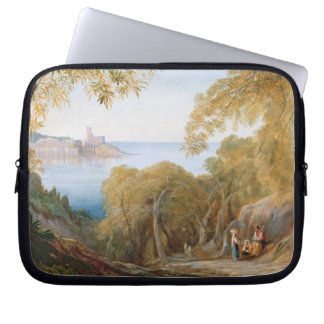 T33412 Landscape with View of Lerici, 1880 Laptop Sleeve