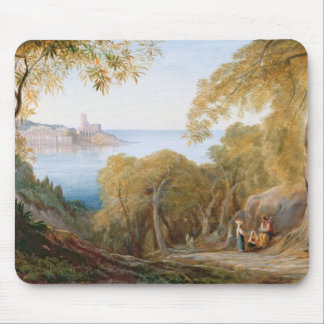 T33412 Landscape with View of Lerici, 1880 Mouse Pad