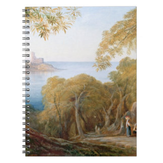 T33412 Landscape with View of Lerici, 1880 Notebook