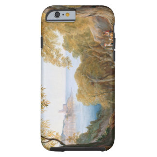 T33412 Landscape with View of Lerici, 1880 Tough iPhone 6 Case