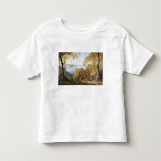 T33412 Landscape with View of Lerici, 1880 Tshirt