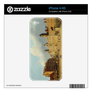 T33449 Northumberland House, Charing Cross (board) Skin For iPhone 4