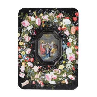 T33453 la coronación de la Virgen rodeada cerca Iman Flexible