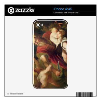 T33486 The Sacrifice of Isaac iPhone 4 Skins