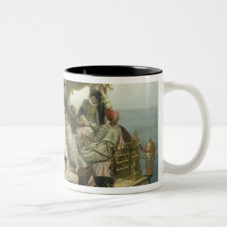 T33653 Mary Stuart's Farewell to France, 1862 Coffee Mugs
