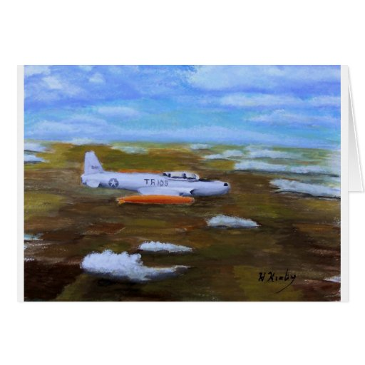 t33 contrasted greeting card