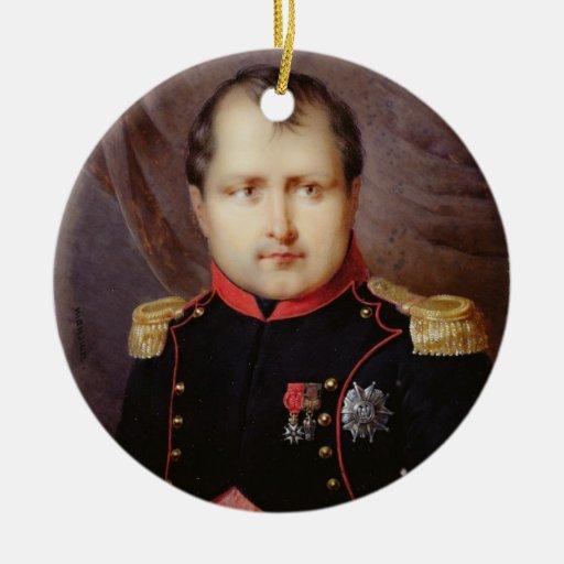 T34002 Portrait Miniature of Napoleon I (1769-1821 Ornaments