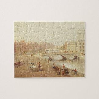 T34018 el río Liffey y las cortes de ley, Dublín Puzzles Con Fotos