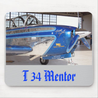 T34 Mentor 2, T 34 Mentor Mouse Pad