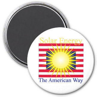 T39a  Solar energy the american way Magnet