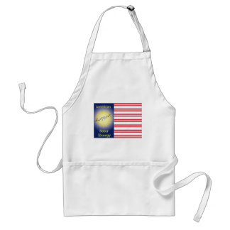 T43a Support American Solar Energy Adult Apron