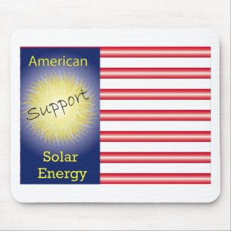 T43a Support American Solar Energy Mouse Pad