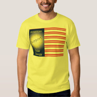 T43a Support American Solar Energy Shirt