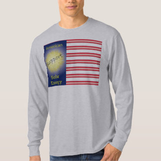 T43a Support American Solar Energy T-shirts