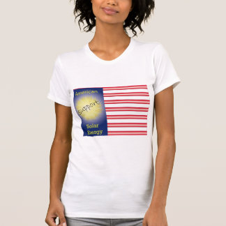 T43a Support American Solar Energy Tshirts
