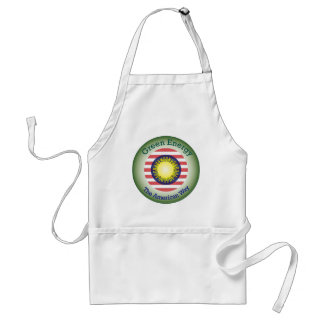 T45a  Green Energy The American Way Apron