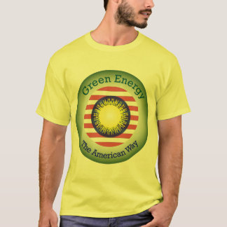 T45a  Green Energy The American Way T-Shirt