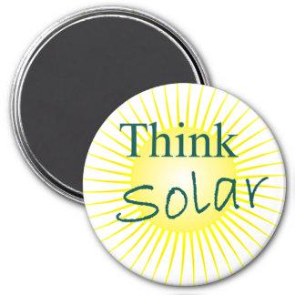 T55 piensan solar imán redondo 7 cm