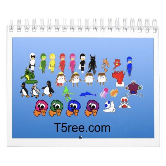 T5ree Calander Calendar