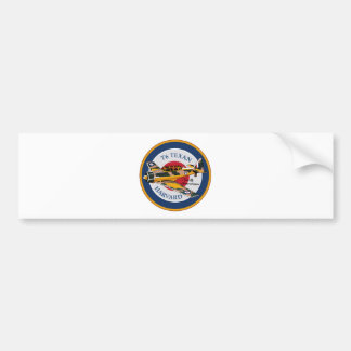 T6 Texan Harvard North American Abzeichen Bumper Sticker