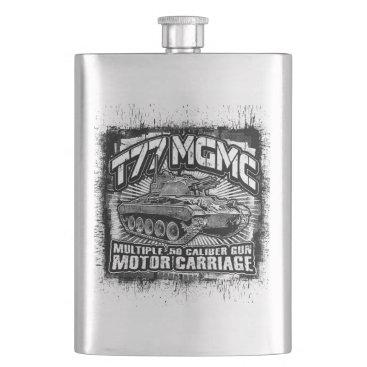 T77 MGMC Hip Flask Classic Flask