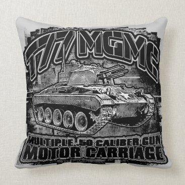 T77 MGMC Throw Pillow Throw Pillow
