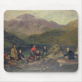 T7833 Fishing at Haweswater Mouse Pad