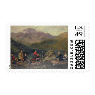 T7833 Fishing at Haweswater Postage
