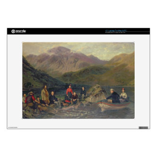 """T7833 Fishing at Haweswater Decal For 15"""" Laptop"""