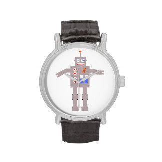 t (17; 19) Reloj del robot