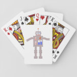 t(17;19) Robot Playing Cards