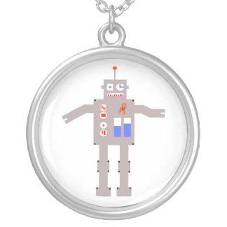 t(17;19) Robot Round Necklace
