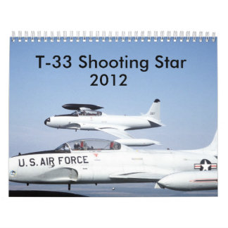 T-33 Shooting Stars Calendar