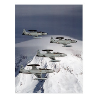 T-33 Shooting Stars Postcard