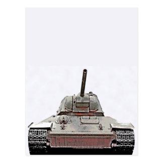 T-34 el tanque ruso, monumento soviético, Berlín - Postales