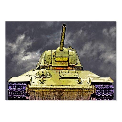T-34 el tanque ruso, monumento soviético, Berlín - Tarjeta De Negocio