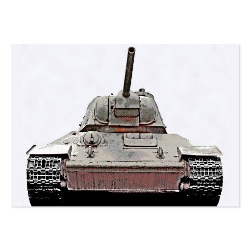T-34 el tanque ruso, monumento soviético, Berlín - Tarjetas De Visita