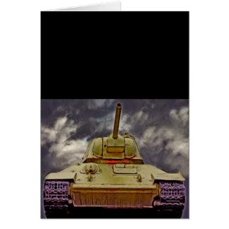 T-34 el tanque ruso, monumento soviético, Berlín - Tarjeta De Felicitación