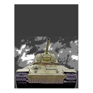 T-34 el tanque ruso, monumento soviético, Berlín - Tarjeta Postal
